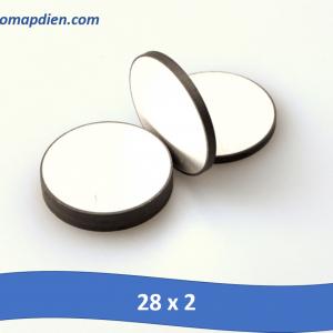 Gốm áp điện siêu âm dụng cụ y tế kích thước 28 x 2mm