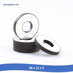 Gốm áp điện PZT, áp điện siêu âm, Máy làm sạch áp điện 38 x 15 x 5 mm
