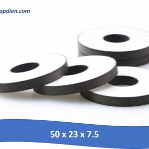 Gốm áp điện kích thước 50 x 23 x 7.5mm