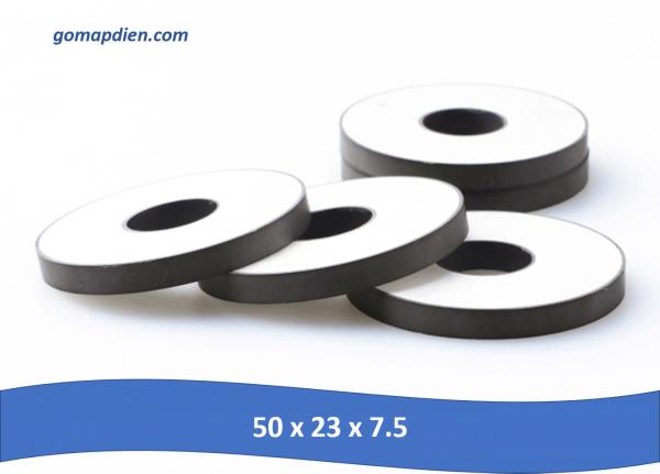 50 x 23 x 7.5 600x431 - Gốm áp điện kích thước 50 x 23 x 7.5mm