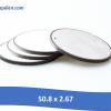 50.8 x 2.67 100x100 - Tấm áp điện siêu âm kích thước 15 x 3mm
