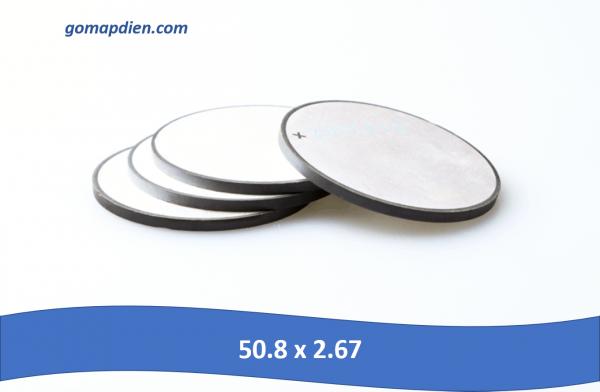 50.8 x 2.67 600x392 - Đĩa gốm áp điện hai mặt điện cực 50.8 x 2.67mm