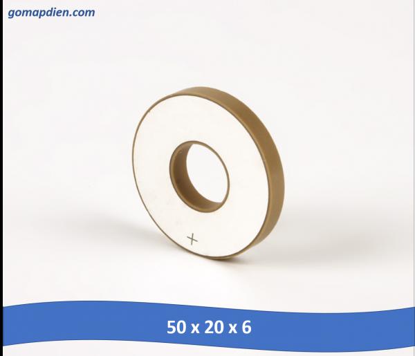 50x20x6 600x515 - siêu âm điện áp, đá siêu âm đầu dò hàn 50 * 20 * 6
