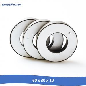Tấm gốm áp điện lớn 60 x 30 x 10 mm