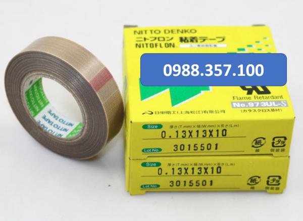0.13 x 13 x 10 1 600x437 - Băng dính nhiệt Nitto 973 UL kích thước  0,13mm x 13mm x 10m