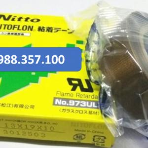 Băng dính nhiệt Nitto 973 UL kích thước  0,13mm x 19mm x 10m