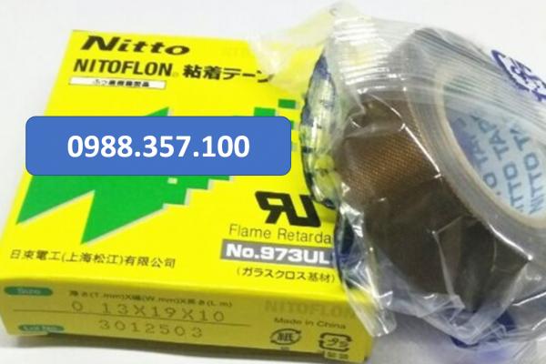 0.13 x 19 x 10 600x400 - Băng dính nhiệt Nitto 973 UL kích thước  0,13mm x 19mm x 10m