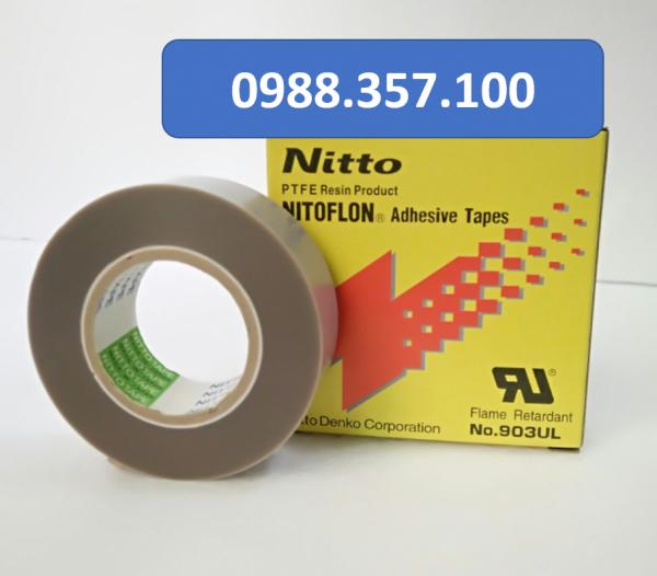 0.18x19x10.2 600x526 - Băng dính nhiệt Nitto 903 UL kích thước  0,18mm x 19mm x 10m