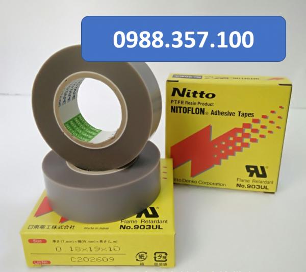 0.18x19x10.3 600x533 - Băng dính nhiệt Nitto 903 UL kích thước  0,18mm x 19mm x 10m