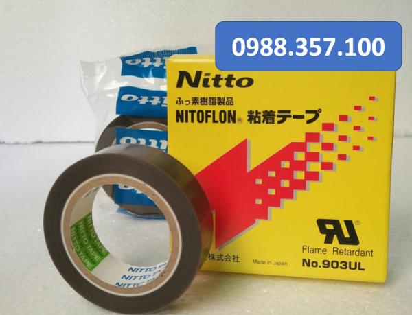 1 1 600x459 - Băng dính nhiệt Nitto 903 UL 0.08mm x 38mm x 10m