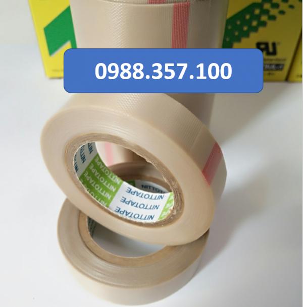 1 2 600x609 - Băng dính nhiệt Nitto 973 UL kích thước  0,13mm x 13mm x 10m