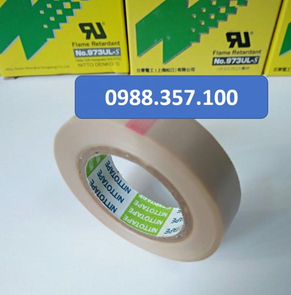 3 2 600x608 - Băng dính nhiệt Nitto 973 UL kích thước  0,13mm x 19mm x 10m