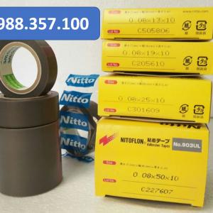 Băng dính nhiệt Nitto 903 UL 0.08mm x 13mm x 10m