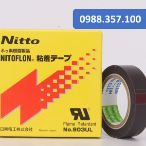 Băng dính nhiệt Nitto 903 UL 0.08mm x 25mm x 10m